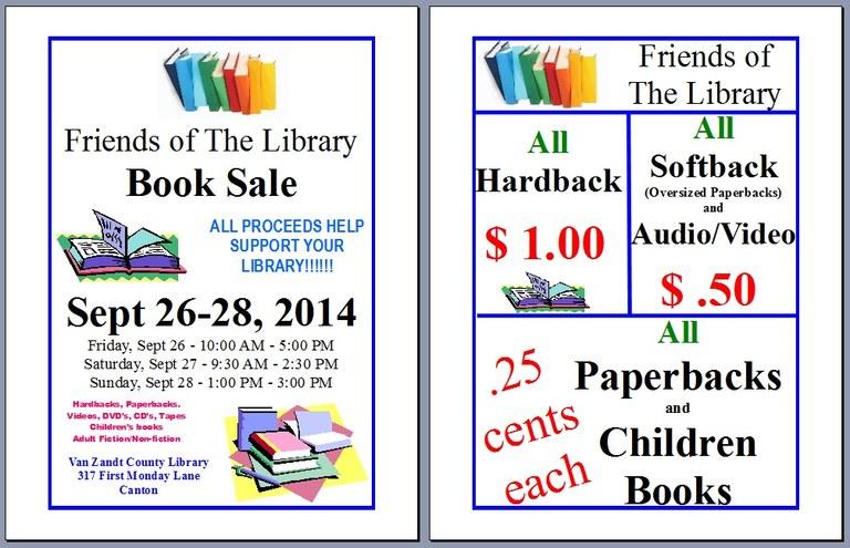 Book Sale for TV Adv