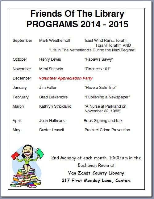 FOL Programs 2014